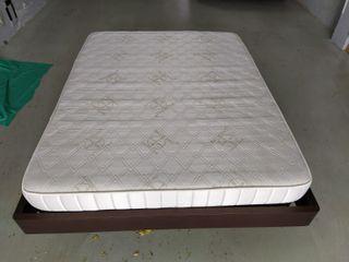 Colchón, somier y aro de cama de matrim. 150x190