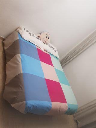 cama 135 -- sofá 3 plazas