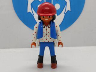 Playmobil mujer de color
