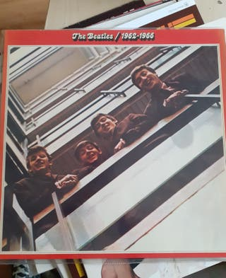 PACK 4LP: Recopilatorios Beatles + Rolling Stones