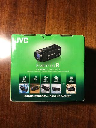 Camara JVC EverioR Quad Proof modelo GZ-RX615BE