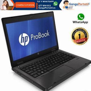 Portátil Hp ProBook 6360b, Cel / 4Gb / Cam / SSD /