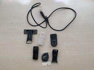 Cámara Mini DV con accesorios