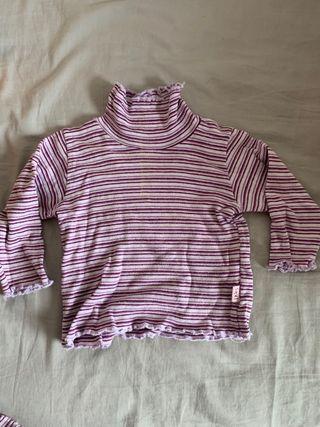 Camiseta y Pantalon marca IKKS bebé Talla 12 meses