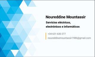 servecios électricos informaticos