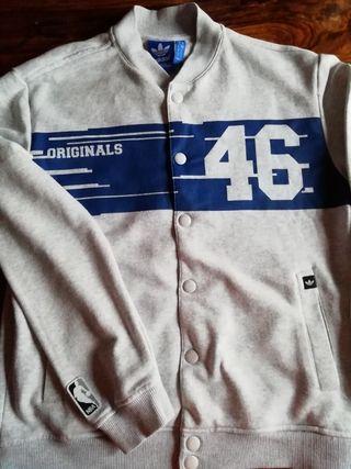 chaqueta adidas original knicks NBA hombre