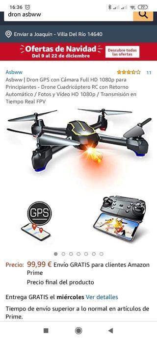 Drone con GPS y video en directo