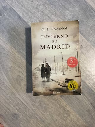 Libro invierno en madrid