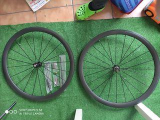 ruedas carbono perfil 38 nuevas