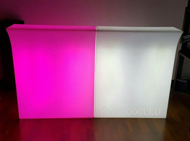 mobiliario de exterior barras de bar led
