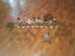 Lote decoración Navidad