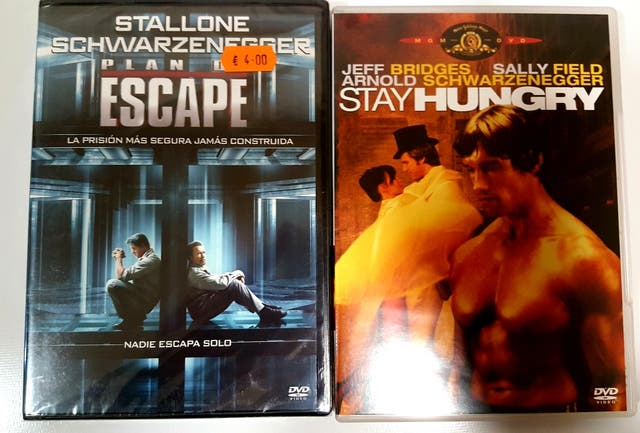 plan de escape y stayhungry dvd