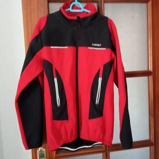 chaqueta bici y culot invierno