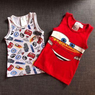 Lote 2 Camisetas Cars Talla 2-4 años