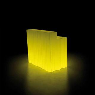 Barras de bar com luz