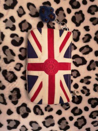 cartera kipling bandera inglesa