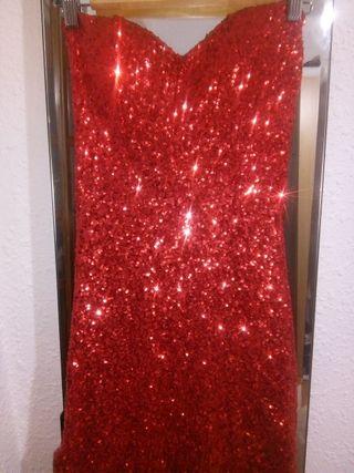 vestido de fiesta largo ideal para noche vieja