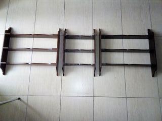 Estanterias de madera 5e la unidad