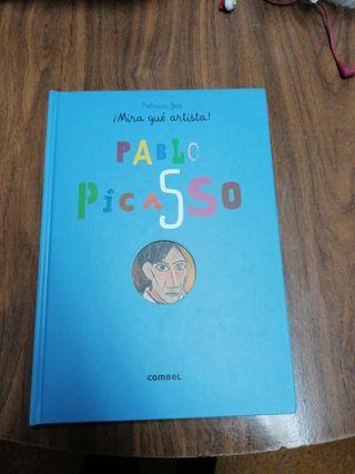 libro infantil. Pablo Picasso. Desplegable