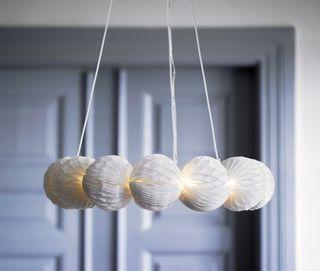 Corona de luz STRALA IKEA (A ESTRENAR) Corona de l