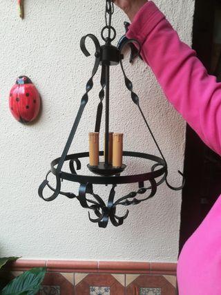 lampara de forja nueva