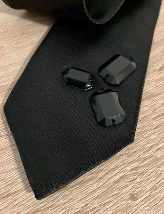 Corbata chica talla única
