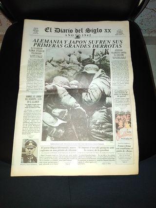 Periódico El Diario del Siglo XX. Año 1942.