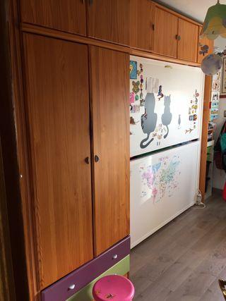 Mueble dormitorio juvenil madera