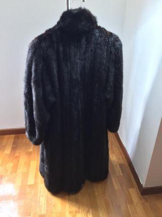 Abrigo de piel de vison