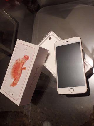 Vendo Iphone 6s plus rosa