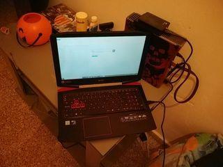 portatil gamer acer i7 7700hq 1tb gtx1050 4gb
