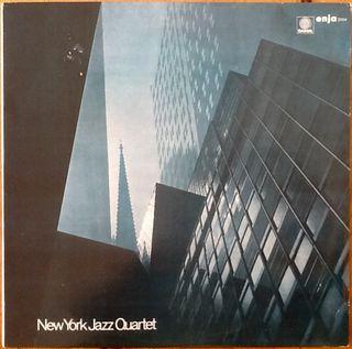 "NEW YORK JAZZ QUARTET ""SURGE"" LP"