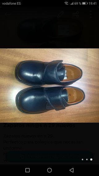 Zapatos niñ@s nuevos n 29