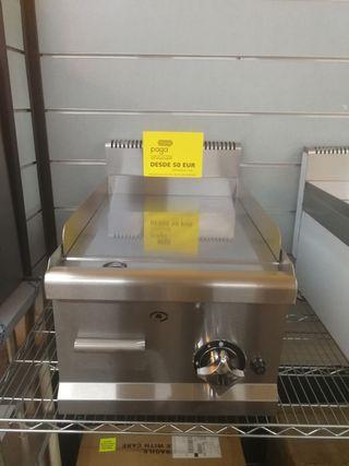 Plancha de gas cromo fry/top nuevo