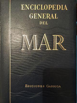 Enciclopedia General del Mar 8 tomos