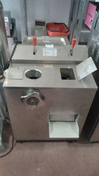 cortadora con picadora de carne industrial