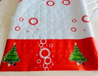 Mantel navideño rulo 5m