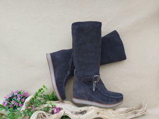 Marca Cafénoir botas con cuña