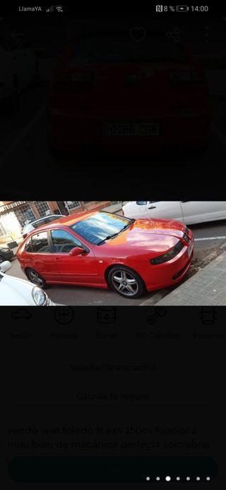 SEAT Leon fr 4x4 2003