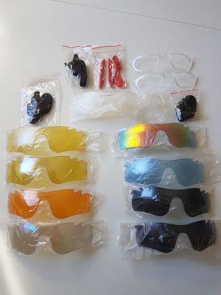 lentes, estuche y accesorios oakley radarlock