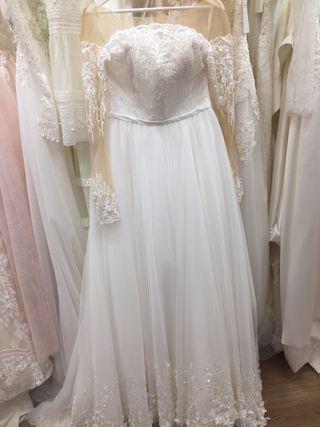 Vestido de novia tipo princesa