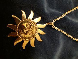 Colgante sol plata