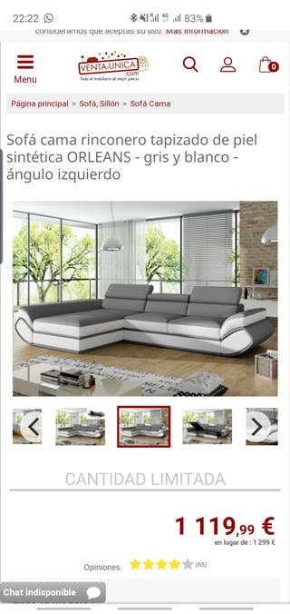 Sofá Moderno A Estrenar