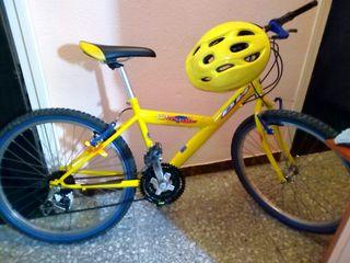 Bicicleta de Montaña BH OREGON Amarilla