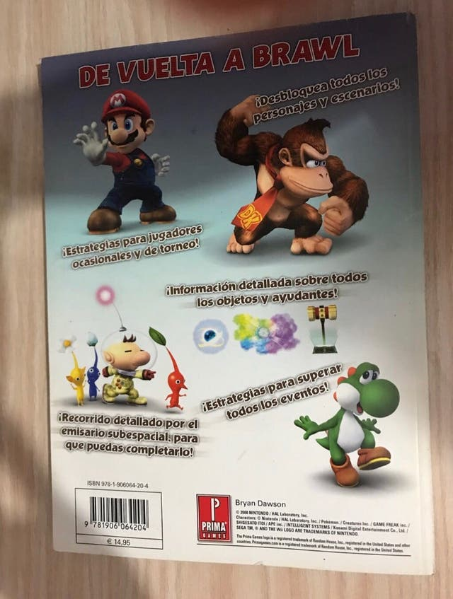 Guía Super smash bros