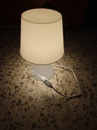 juego 2 lámparas noche