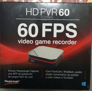 Capturadora de video HD PVR 60 hauppage