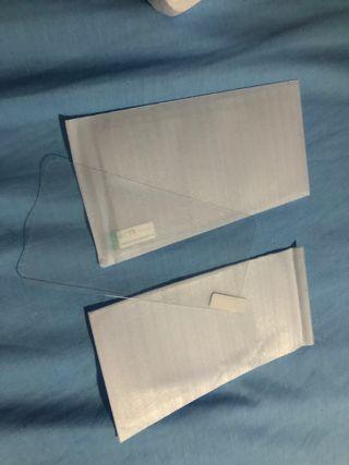 Dos protectores cristal