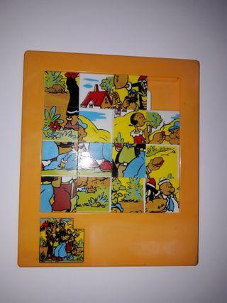 Puzzle laberinto años 70 80 colección juguete