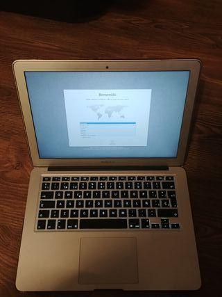 Portatil ordenador Macbook air 13 ssd 128gb